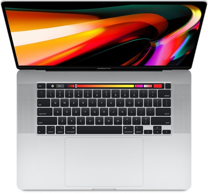 MacBook Pro 16-inch (2019) 2.3GHz 8C i9/16GB/1TB Silver